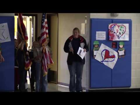 La Barge Elementary School Veteran's Day Program