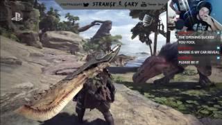 Monster Hunter World Reaction: Sony E3 2017