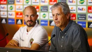 Nice - Lazio : la conférence d'avant-match
