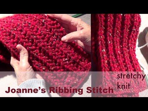 Knitting With Ribbing Ch