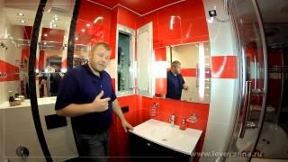 147 Ремонт ванной комнаты (Феррари стайл :-) Ворошилова 25