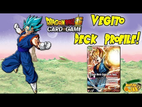 UPDATED Vegito Dragon Ball Super Deck Profile!