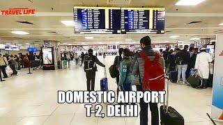 Terminal 2 domestic airport, delhi   Delhi airport vlog  