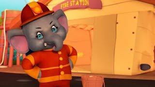 হাতি গান The Elephant Song   Bengali Rhymes for Kids   Infobells