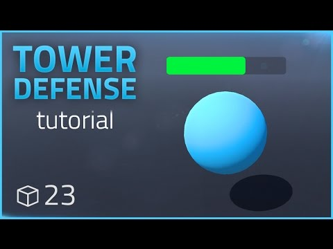 How to make a Tower Defense Game (E23 HEALTH BARS) - Unity Tutorial thumbnail