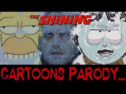 Cartoons Parody... THE SHINING