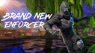 *NEW* Enforcer Skin!! - Fortnite Battle Royale GamePlay - AnthonyGamer090