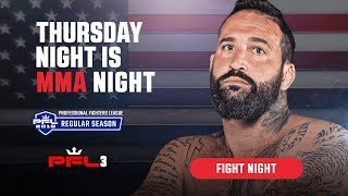 PFL3 | 2019 Live at the Nassau Coliseum in Uniondale, NY