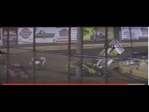 Crate Sportsman Flip at New Egypt Speedway May 20, 2017
