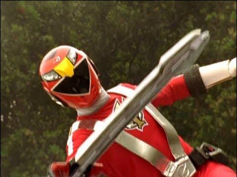 Power Rangers RPM - Ranger Red - Power Rangers vs Attack Bot (Episode 7)