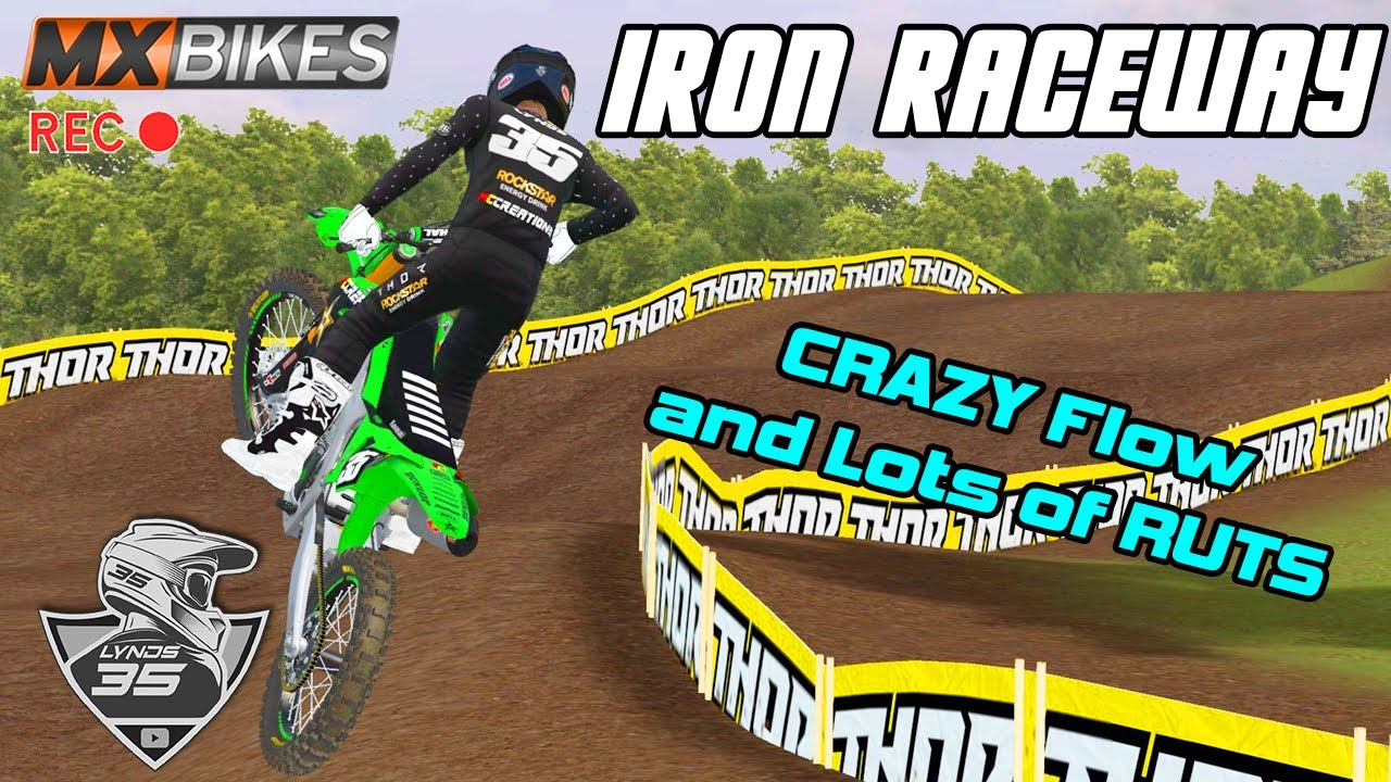 Download This Track has a CRAZY GOOD FLOW! - Iron Raceway in MX Bikes