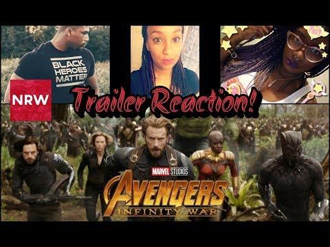 NRW: Marvel Studios' Avengers: Infinity War Trailer Reactions! #NewReleaseWednesday #NRW