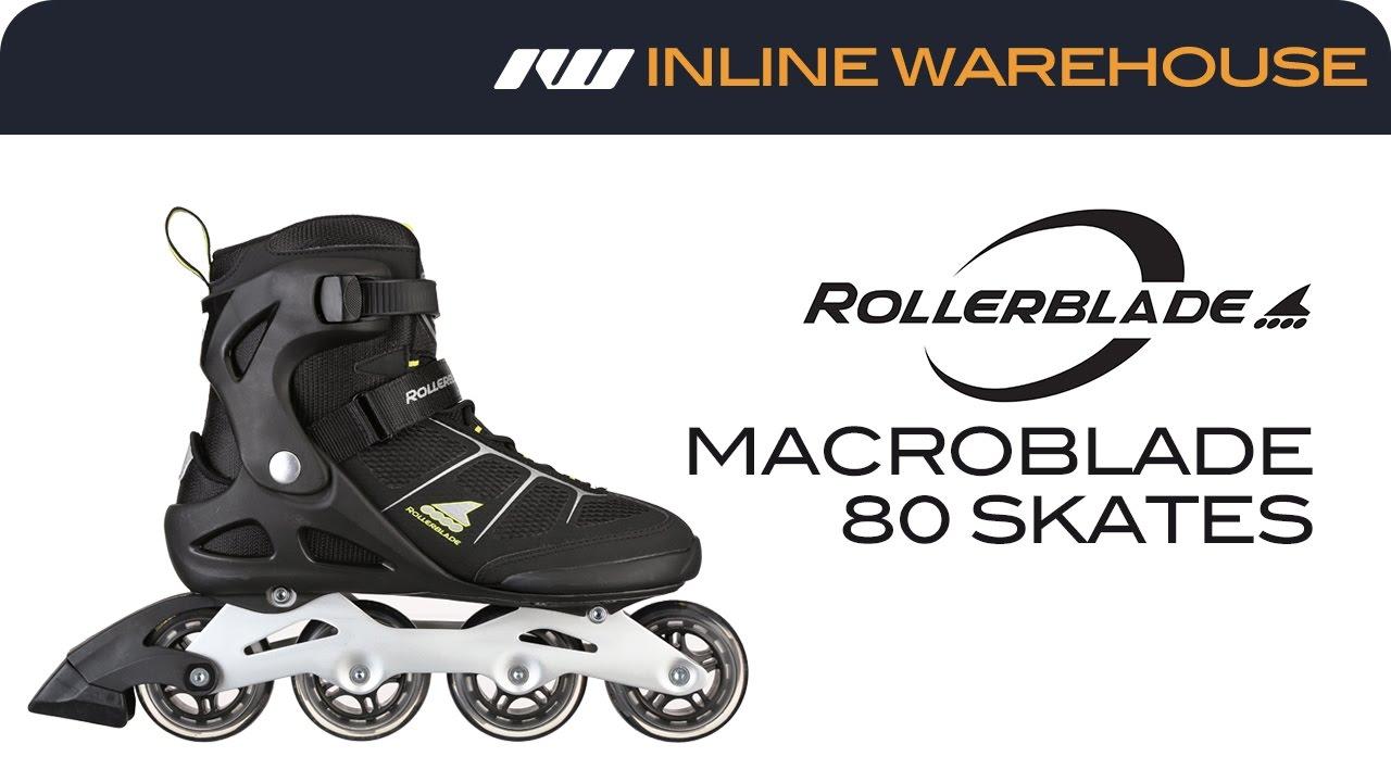 e8376e15dff 2017 Rollerblade Macroblade 80 Skates For Men Review - YouTube