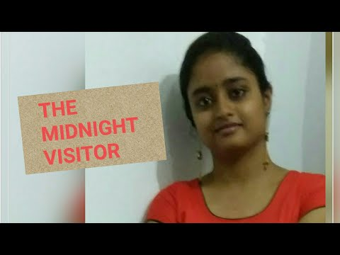 THE MIDNIGHT VISITOR by Robert Arthur (in Hindi)