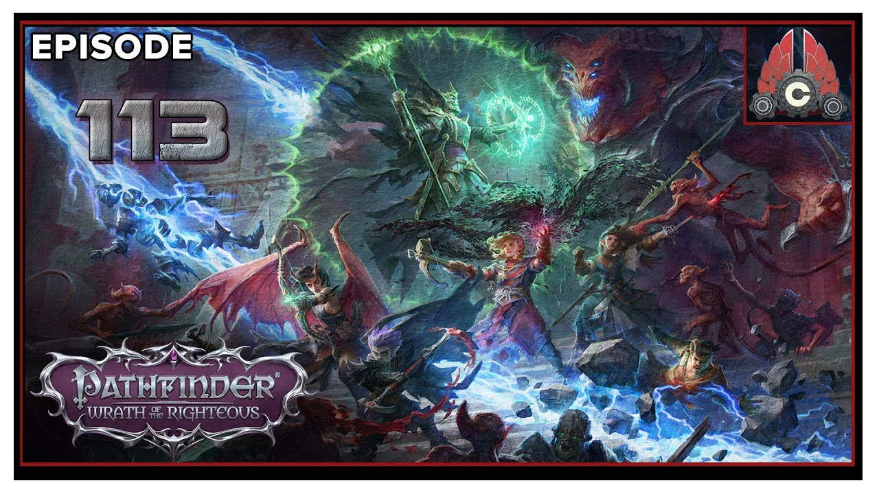 CohhCarnage Plays Pathfinder: Wrath Of The Righteous (Aasimar Deliverer/Hard) - Episode 113