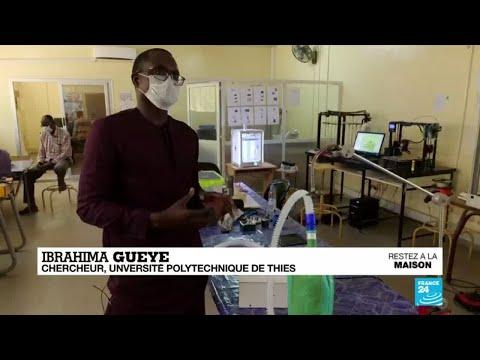 Coronavirus: Au Sénégal, des respirateurs artificiels créés avec une imprimantes 3D