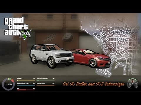GTA V get UC Baller and UC2 Schwartzer (alternative)
