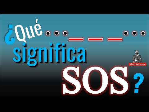 ¿Qué significa SOS?