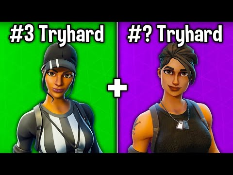 TOP 10 MOST TRYHARD SKINS IN FORTNITE CHAPTER 2 (Sweaty Skins)