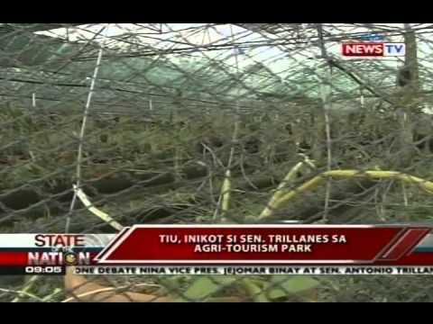 SONA: Sen. Trillanes, ininspeksyon ang tinaguriang hacienda Binay sa Rosario,Batangas