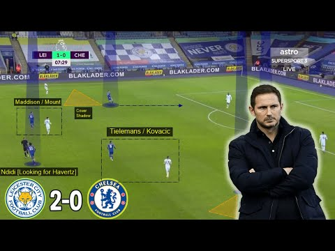 Is Lampard's Time at Chelsea Coming to an End? Leicester City vs Chelsea 2-0 | Tactical Analysis