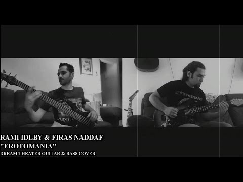 Dream Theater - Erotomania | Guitar and Bass Split Screen Covers