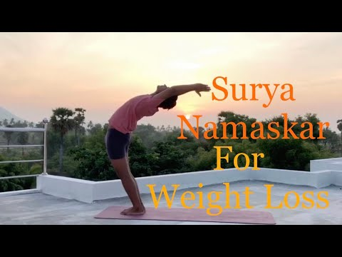 surya namaskar for weight loss  sun salutations yoga