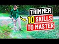 How to Use a String Trimmer - 10 Skills to Master