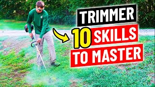 How to Use a String Trimmer  10 Skills to Master