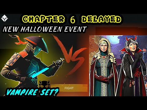 Shadow fight 3》CHAPTER 6 POSTPONED | NEW HALLOWEEN EVENT