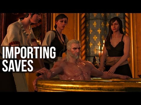 How to Import Saves in Witcher 3 (and All Possible Choices)