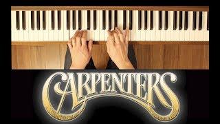 Sing (The Carpenters) [Easy-Intermediate Piano Tutorial]