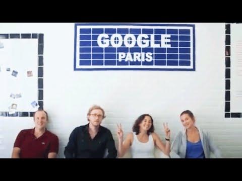 Google Paris Metro Station