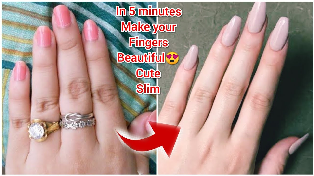 Just 10 mins! Get Beautiful fingers & Hands. How to lose fat