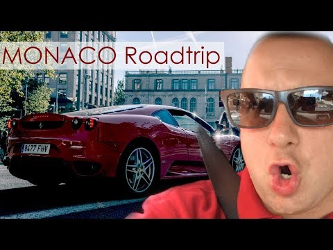 France to Monaco Road Trip
