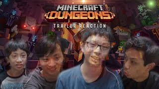 READY FOR SOME DUNGEON EXPLORING? | Minecraft Dungeons (Trailer Reaction) | Xbox Conference E3 2019