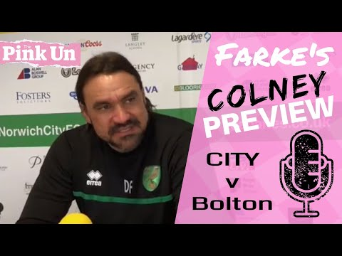 Norwich City v Bolton | Preview and team news from Daniel Farke