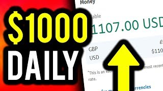 Earn $1000 Per Day For FREE! (With PROOF!) - Make Money Online 2019