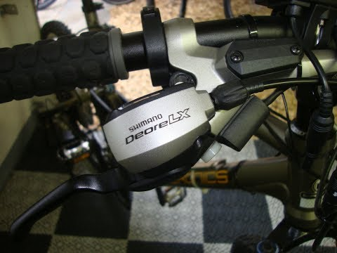 Shimano Deore LX Gang Schaltung reparieren. Don`t works, what do?