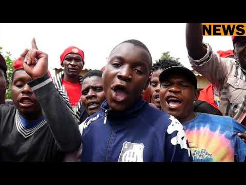 MDC-T Vice President Mai Khupe harassed at Dr Morgan Tsvangirai's Funeral