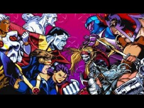 X-Men: Children of the Atom (PS1) Playthrough - NintendoComplete