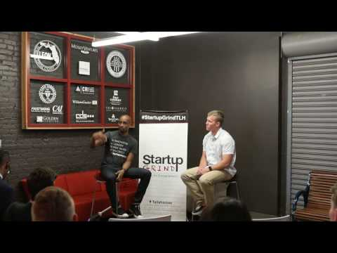 Vincent Hunt (Co-Founder/CEO of Creators Camp) at Startup Grind Tallahassee