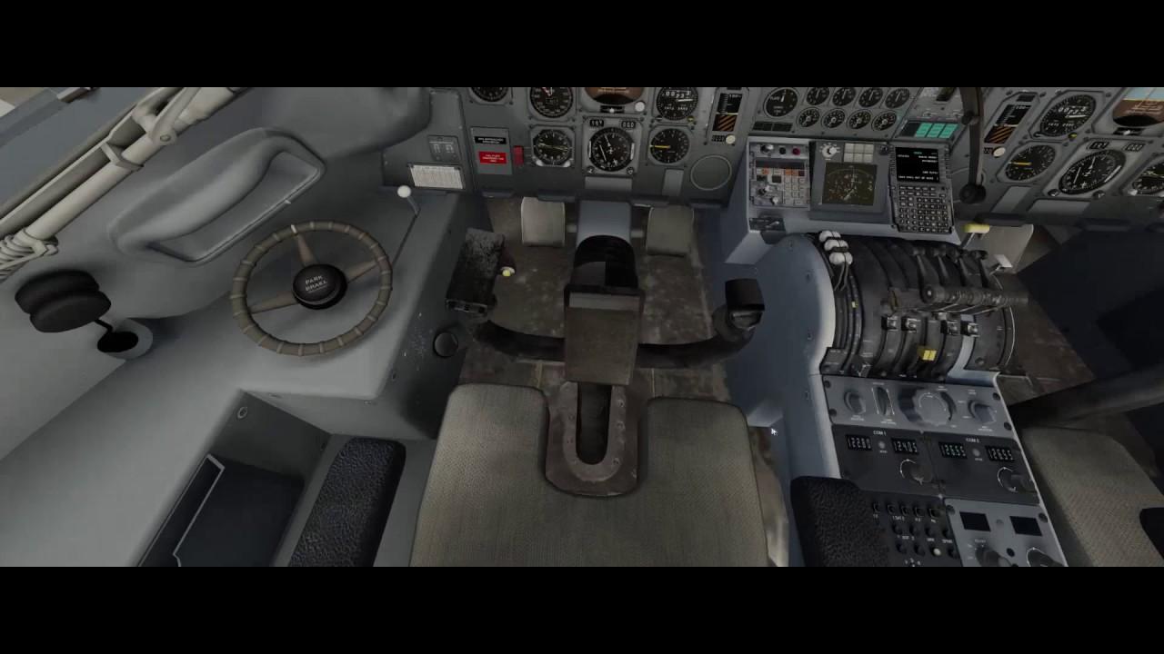 XPD Aircraft Review: DC-8 71 XP11 vlog_248