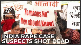 India police shoot dead four suspects in rape and murder case