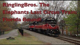 Ringling Bros Circus Train: Elephant