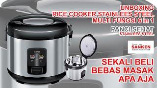 Rice Cooker Sanken SJ2100 1.8 Liter Magic Com 6 in1 Sanken SJ-2100