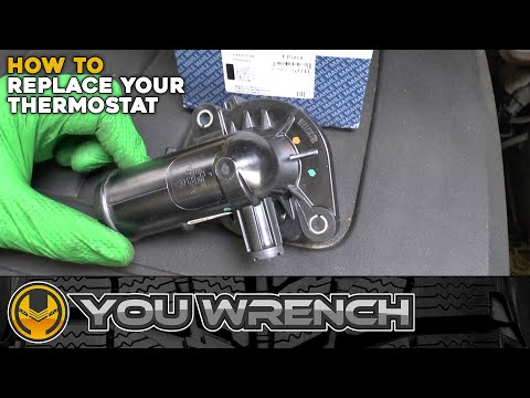 How to Replace Thermostat – Dodge Grand Caravan 2008-2020 (Chrysler Town & Country) 3.6 V6