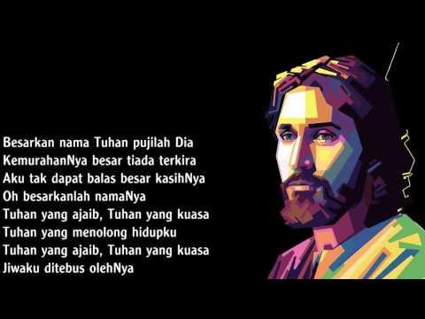 Besarkan nama Tuhan pujilah Dia medley  TUHAN ALLAH DI TENGAH KITA BESAR, BESAR