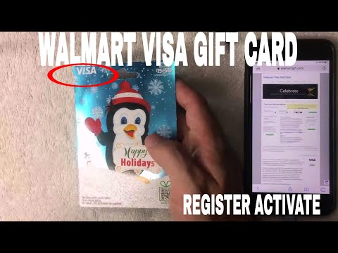 ✅  How To Register Activate Walmart Visa Gift Card 🔴