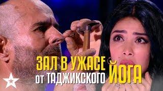 Весь зал был в ужасе! Таджикский йог Исматулло Хамидов чуть не лишился жизни!